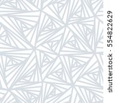 seamless pattern. abstract line ... | Shutterstock . vector #554822629