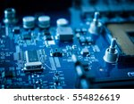 technology background with... | Shutterstock . vector #554826619