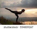 women's yoga | Shutterstock . vector #554839267