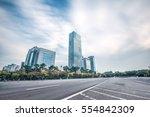 modern office buildings in... | Shutterstock . vector #554842309