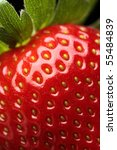 close up detail of a fresh red... | Shutterstock . vector #55484839