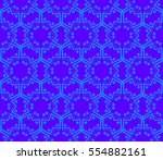 ornamental seamless pattern.... | Shutterstock . vector #554882161