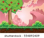 game background  colorful... | Shutterstock .eps vector #554892409
