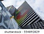 melbourne architecture  | Shutterstock . vector #554892829