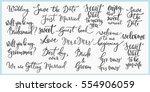 lettering photography overlay... | Shutterstock .eps vector #554906059