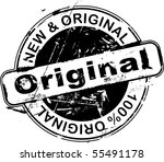 grunge office rubber stamp with ... | Shutterstock .eps vector #55491178
