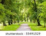 park in spring time | Shutterstock . vector #55491529