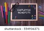 employee benefits | Shutterstock . vector #554936371