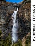 takawawa falls  british... | Shutterstock . vector #554983801