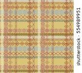 ethnic seamless pattern. boho... | Shutterstock .eps vector #554989951