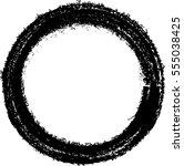 vector frames. circle for image.... | Shutterstock .eps vector #555038425