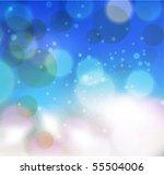 green bokeh abstract light... | Shutterstock .eps vector #55504006