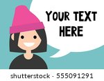 your text here. conceptual... | Shutterstock .eps vector #555091291