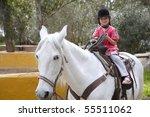 Rider Little Girl Jockey Hat...
