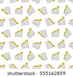 graphic growing. colored flat...   Shutterstock .eps vector #555162859
