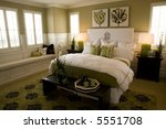 modern luxury bedroom | Shutterstock . vector #5551708