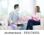 counselor. | Shutterstock . vector #555176551