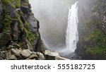 Massive Waterfall At...