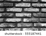 Old Brick Wall Background...