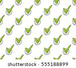 check mark. colored flat line...   Shutterstock .eps vector #555188899
