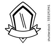 shield premium ribbon template...