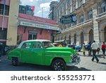 havana  cuba  dec 27  2016 ... | Shutterstock . vector #555253771