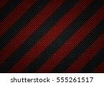 abstract modern black carbon... | Shutterstock . vector #555261517