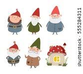 Cute Gnome Print