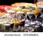 fruit in glass | Shutterstock . vector #555286801