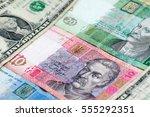 money background. ukrainian... | Shutterstock . vector #555292351