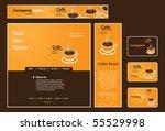 business set  banner  business...   Shutterstock .eps vector #55529998