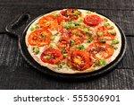 tamilnadu cuisine famous tomato ...   Shutterstock . vector #555306901