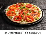 tamilnadu cuisine famous tomato ...   Shutterstock . vector #555306907