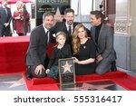 los angeles   jan 11   denis... | Shutterstock . vector #555316417