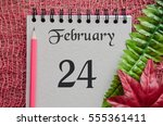 February 24 Date Vintage...