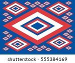 russia flag color graphic... | Shutterstock .eps vector #555384169