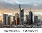 skyline of frankfurt am main in ...   Shutterstock . vector #555402994