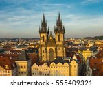 Overview Of Old Prague At...