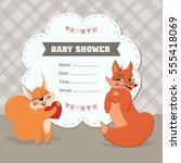 vector illustration of cute...   Shutterstock .eps vector #555418069