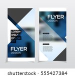 business brochure design.... | Shutterstock .eps vector #555427384