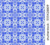 Small photo of Portuguese azulejo tiles. Blue and white gorgeous seamless patterns. For scrapbooking, wallpaper, cases for smartphones, web background, print, surface texture, pillows, towels, linens, bags, T-shirts