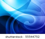 cool blue background  similar... | Shutterstock . vector #55544752