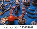morocco   accessory at market   | Shutterstock . vector #555493447