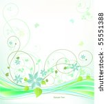 abstract vector illustration | Shutterstock .eps vector #55551388