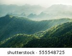 beautiful landscape nature of... | Shutterstock . vector #555548725