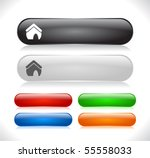 buttons for web. vector. | Shutterstock .eps vector #55558033