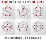 vector infographic set. data...   Shutterstock .eps vector #555583159