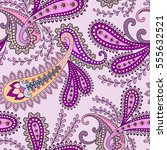 seamless pattern with bright... | Shutterstock .eps vector #555632521