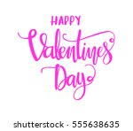 happy valentine's day.... | Shutterstock .eps vector #555638635
