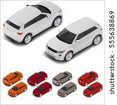 vector isometric off road... | Shutterstock .eps vector #555638869